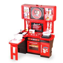 Childrens Toy Kitchen Arts & Crafts Kitchens 2019 Pretend Play Toys Children S Cooking Cook Kindergarten Electric Parent Child Set Mother Garden From Toyshome
