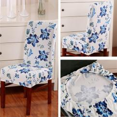 Christmas Chair Covers White Old Fashioned Chairs Multifunctional Home Dining Antifouling Cover Removable Elastic Xmas Slipcover Seat Decor Ornament Antimacassar