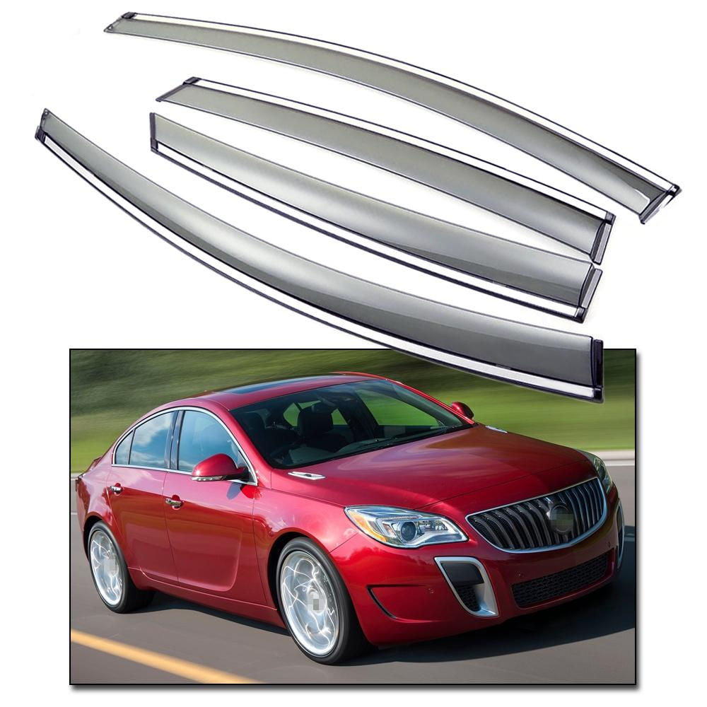 medium resolution of 2019 new front rear side window visor deflector vent shade fit for buick regal 2014 2016 15 from icar club 73 56 dhgate com