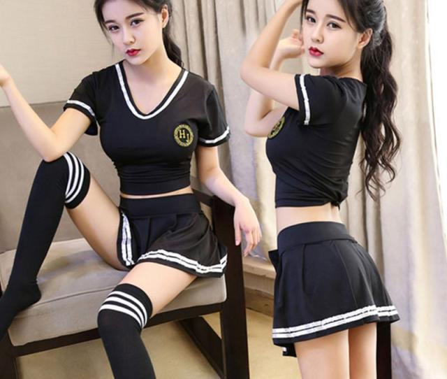 2019 Sexy High School Colleage Girls Uniform Party Outfits Cheerleader Costume Bl22 From Honhui 34 95 Dhgate Com