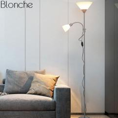 Light Stand For Living Room Rustic Decorating Ideas Modern Nordic Design 2 Lights Night Floor Lamp Hotel Adjustable Fixtures E27 Led Bedroom Home Canada 2018 From Afantilamp