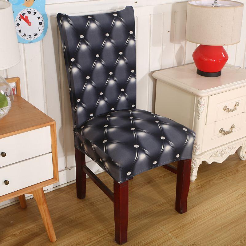 acheter dreamworld elastique housse de chaise pour ordinateur salle a manger cuisine bureau colore imprime chaise couvre spandex housse de siege de