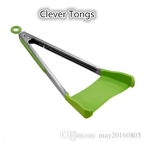 kitchen spatula shun knives clever tongs 2 in 1 and non stick silicone canada 2019 from may20160805 cad 6 59 dhgate