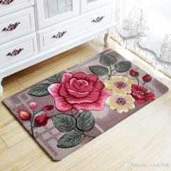 Cheap Kitchen Rugs Wall Shelves For 2019 Big 3d Flower Carpet Kids Room Bathroom Doormat Tapete Para Quarto Entrance Door Mats Outdoor Bath Mat Bedroom Pad From