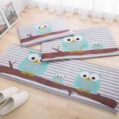 Owl Kitchen Rugs Dark Floors Cartoon Gift Carpet Mats Anti Slip Floor Mat Modern Home Decor Fish Doormat Bedroom Bedside Rug Bath K119 Best Outdoor Cushions Lounge