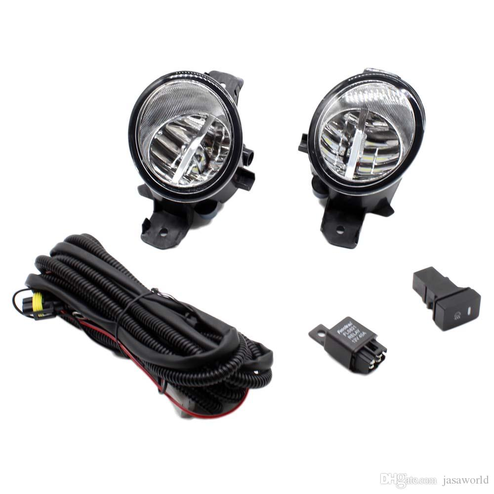 medium resolution of for nissan almera 2 ii hatchback h11 wiring harness sockets wire connector switch 2 fog lights drl front bumper led lamp