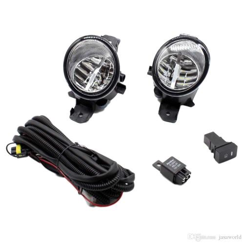 small resolution of for nissan almera 2 ii hatchback h11 wiring harness sockets wire connector switch 2 fog lights drl front bumper led lamp