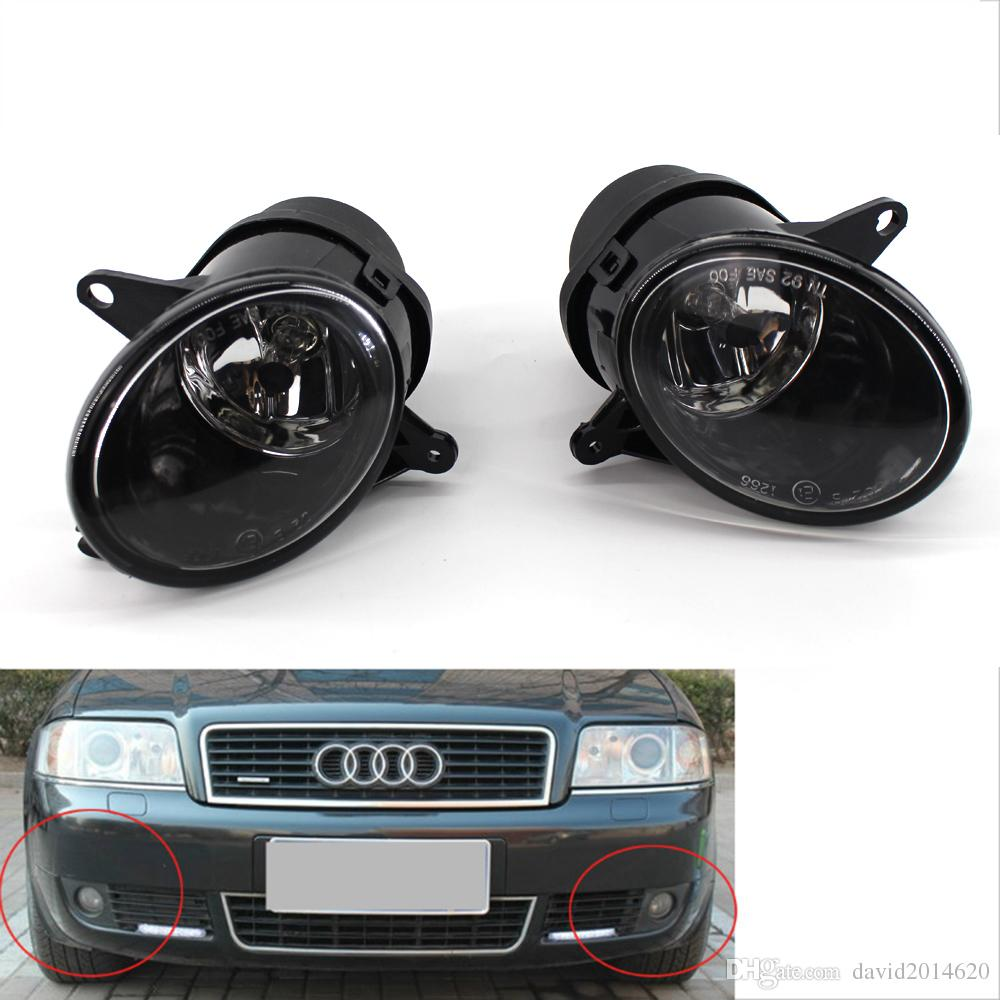 medium resolution of for audi a6 c5 2002 2003 2005 auto fog light lamp car front bumper grille driving lamps fog lights set kit 4b0941699c 4b0941700c canada 2019 from