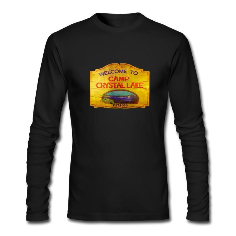 70fa2e33ab5c ... Vintage Sign Friday Jason Horror Long Sleeve Tshirt Designer T Shirts  Designer. Fullsize Of Camp Crystal Lake Sign Large Of Camp Crystal Lake  Sign ...
