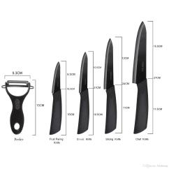 Rating Kitchen Knives Unique Cabinets Extremely Sharp Ceramic Knife Set For Outdoor Camping Bbq Perfect Us Shipping Recommended From Lidahuang