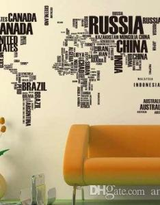 New vintage large poster letter world map home decoration detailed teaching wall chart paper natural rubber maps from amiigo dhgate also rh