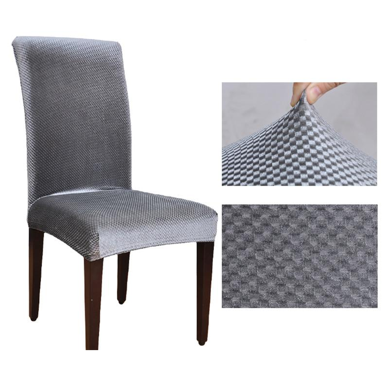stretch dining chair covers european jacquard spandex machine washable restaurant for weddings banquet folding hotel cover linen rentals sofa slipcover from