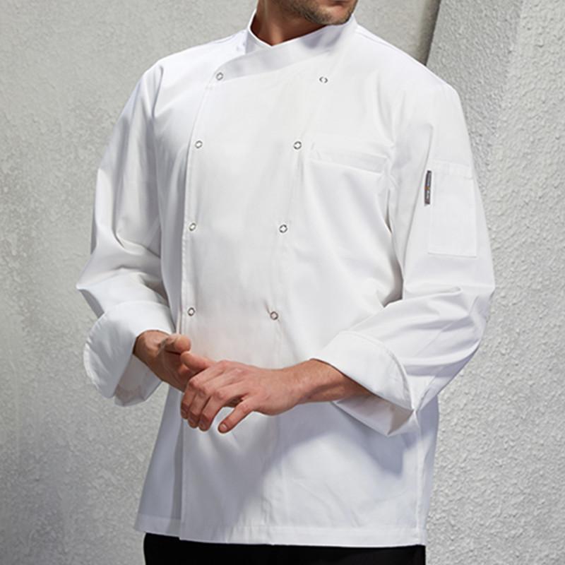 kitchen wear elkay sinks undermount white red black long sleeve shirt barista hotel restaurant diner chef uniform bistro baker bar catering work d18 toddler apron funny from