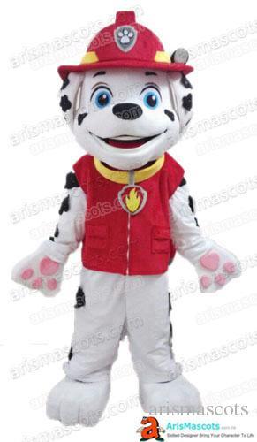 fireman costume marshall mascot