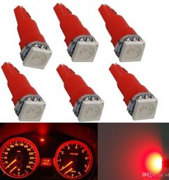 wljh car light t5 led 286 auto dash bulb speedo dashboard lamp gauge instrument light led for mitsubishi infiniti audi bmw [ 1000 x 1000 Pixel ]