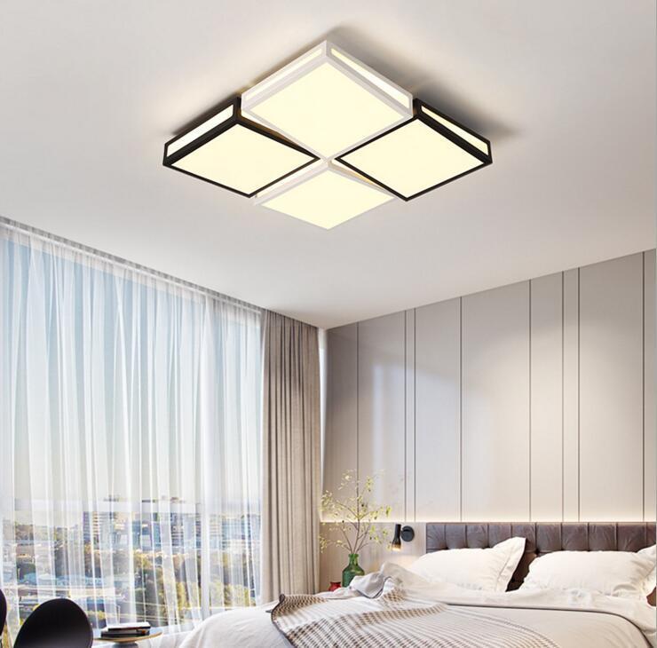Grohandel Lampen Wohnzimmer Deckenleuchte LED Schlafzimmer Lampe Kreative Rechteckige Halle