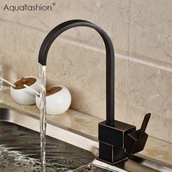 Oil Rubbed Bronze Kitchen Sink Led Lighting 2019 Vintage Black Faucet Mixer Single Handle For From Hariold 59 94 Dhgate Com
