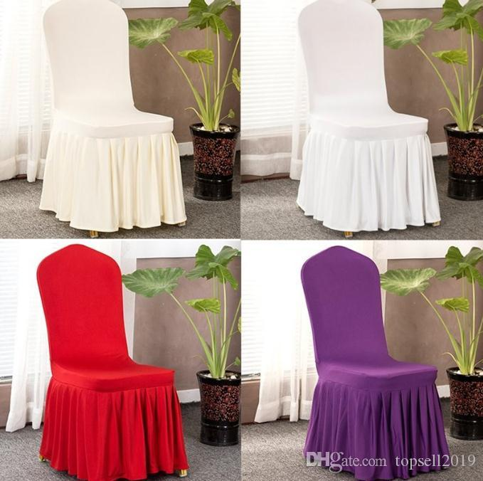 wedding chair covers for office model party cover restaurant hotel home decors seat spandex stretch banquet plain sn825