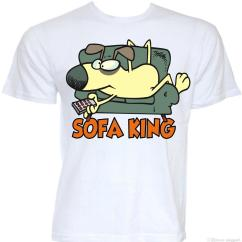 Sofa King Awesome T Shirt Big Lots Sectional Sofas Mens Funny Cool Novelty Lazy Joke Rude Shirts Tv Addict Graphic Gift Summer Short Sleeves New Fashion Cheap Online
