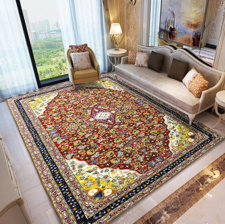 best living room carpet furniture sets cheap persian russian top grade jacquard parlor rugs corridor large bathroom bedroom non slip floor mats buying costs from
