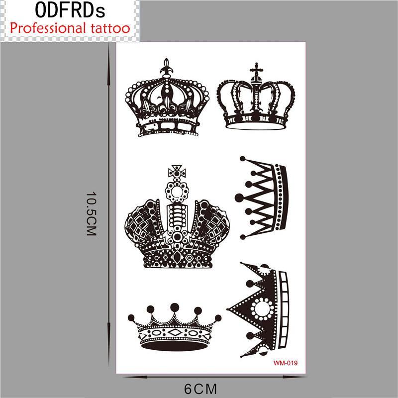 Orden Mínima 05 Tatuaje Temporal Para Hombre Mujer Pegatinas A