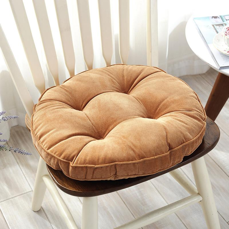 thick chair cushions hanging chairs round cushion floor mattress seat pad soft home office mat throw pillow top quality patio replacements