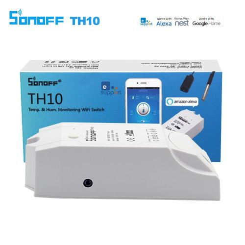 small resolution of sonoff th10 smart wifi switch monitoring temperature humidity wifi smart switch home automation kit works with alexa google home smart home appliances smart