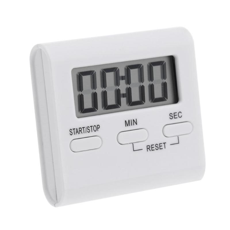 digital kitchen timers back splash for 99 minutes lcd timer count down up clock loud alarm magnet diy oven cooking cheap