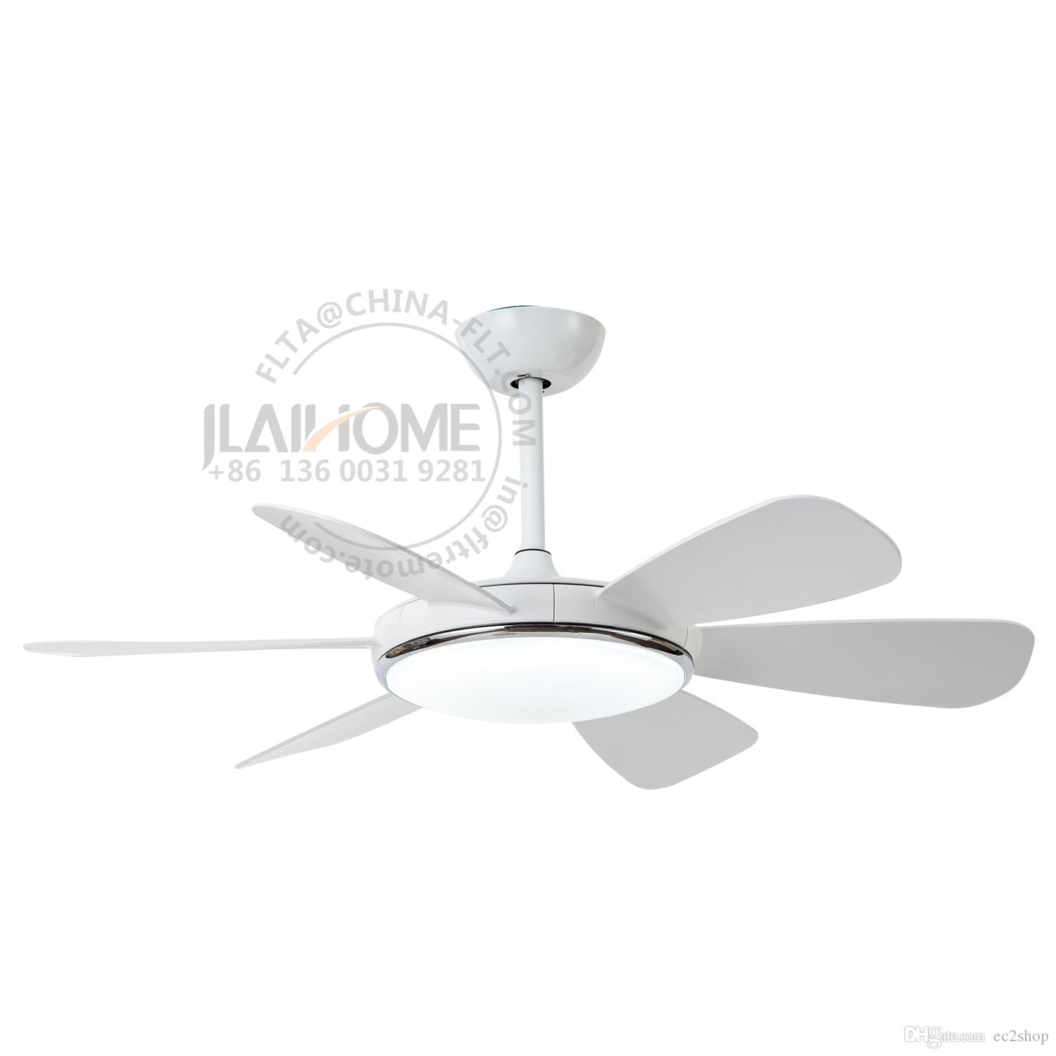 52 Inch White Ceiling Fan With Light And Remote