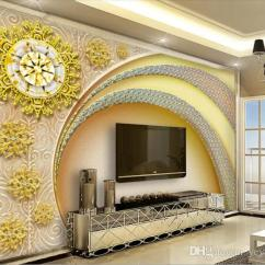Soundproof Living Room Leather Rooms Sets Custom 3d Wallpaper Colored Elk Forest Photo Background Walls Wallpapers Designs