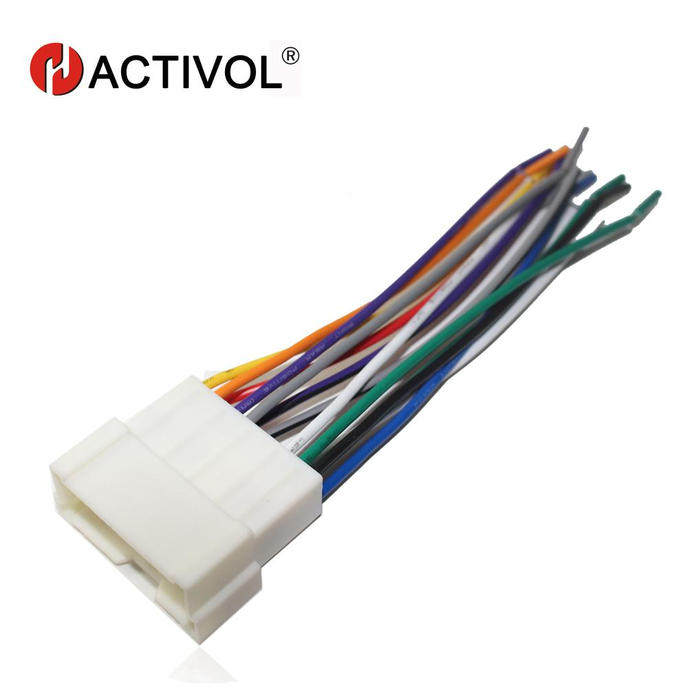 hight resolution of 2019 car radio stereo female iso plug power adapter wiring harness special for sonata elantra tucson iso harness power cable gps from baixiangguo
