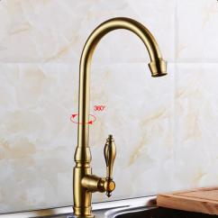 Antique Bronze Kitchen Faucet Kids Table 2019 Brass Sink Tap Cold Water 360 Swivel Spout From Sheiler 39 79 Dhgate Com