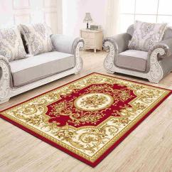 Carpet For Living Room Leather Furniture Clearance European Style Rug Area Rugs Jacquard Textile Modern Home Decor Bedroom Table Anti Slip Floor Mats Depot Cheap Tiles