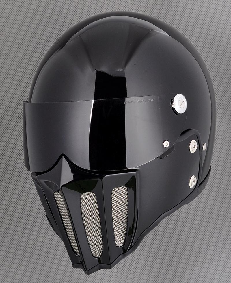 441dbd50 Fpr Full Face Motorcycle Vintage Helmet With Fiberglass Mask Mounth. Torc  T1 Retro Fiberglass Full Face Helmet Style ...