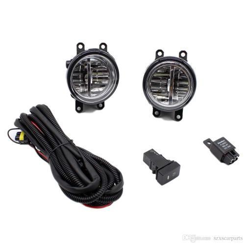 small resolution of for toyota yaris 2006 2013 h11 wiring harness sockets wire connector switch 2 fog lights drl front bumper led lamp fog light rack fog light replacement