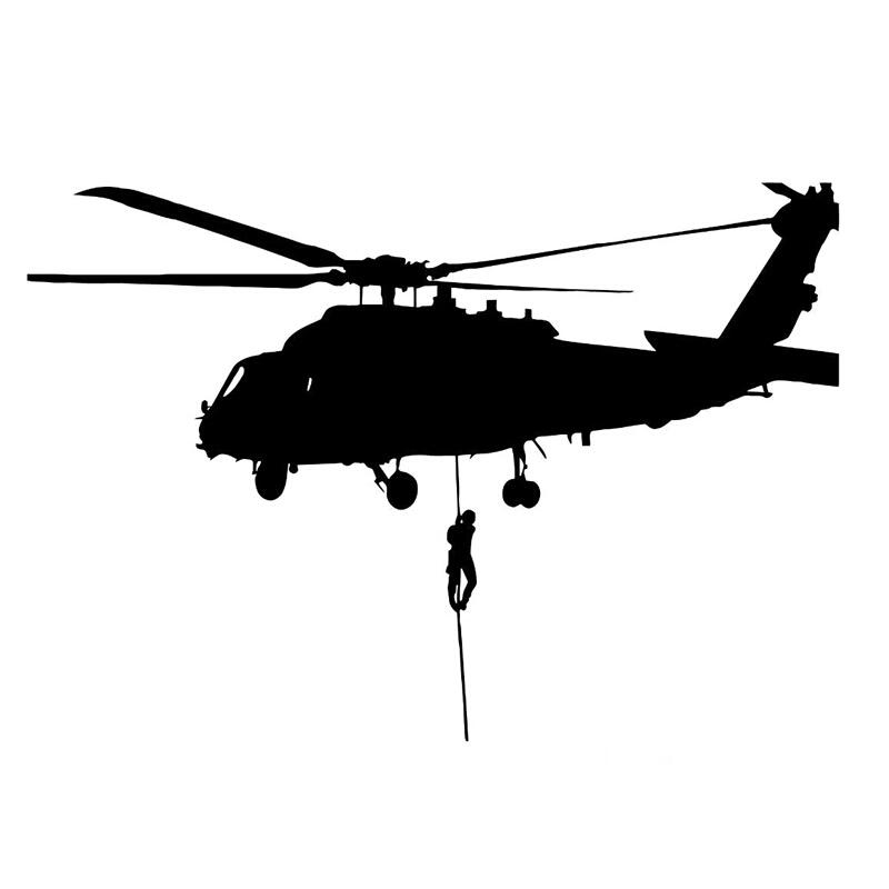 2019 Helicopter Air Force Military Vinyl Car Sticker