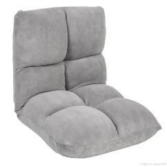 Gaming Floor Chair Steel In Jaipur 2019 Adjustable Memory Split Foam Gray From
