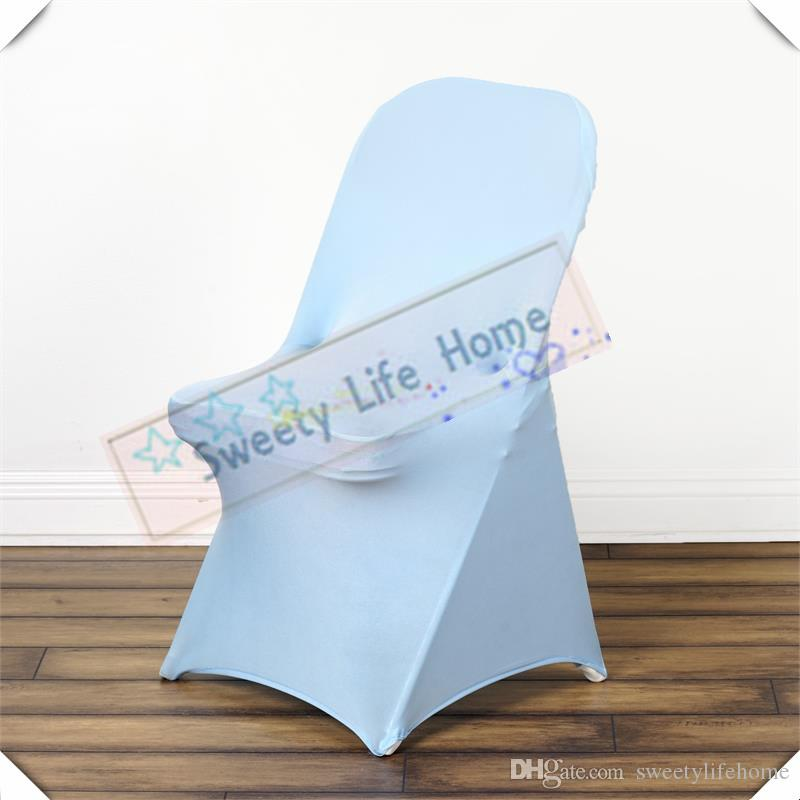 baby blue chair covers swing leather wedding folding spandex fold lycra seats for party events sofa recliner slipcovers reclining sofas from