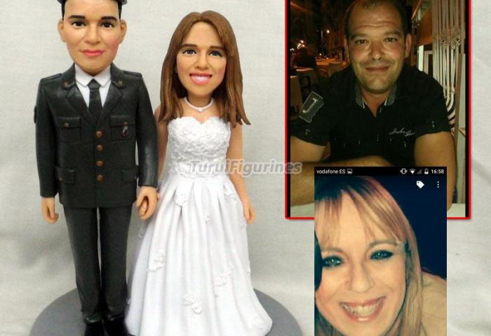 Personalized Wedding Cake Topper Customize From Photo Of Couple