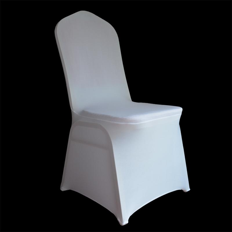 chair covers universal qatar wedding white stretch polyester spandex cover for weddings banquet restaurant seat tablecloth and slipcover