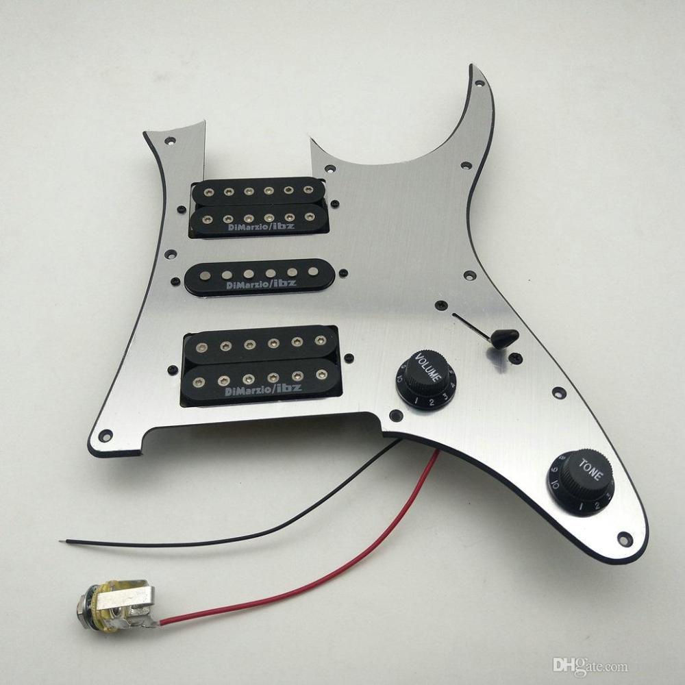 medium resolution of 2019 dimarzio ibz ainico pickups rg2550z electric guitar pickup pickguard wiring harness n m b from iguitar 70 36 dhgate com