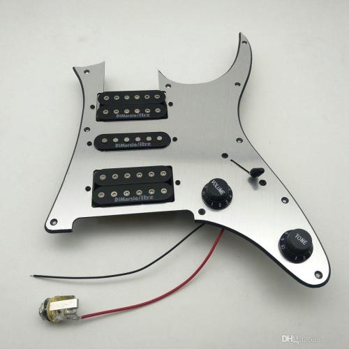 small resolution of 2019 dimarzio ibz ainico pickups rg2550z electric guitar pickup pickguard wiring harness n m b from iguitar 70 36 dhgate com