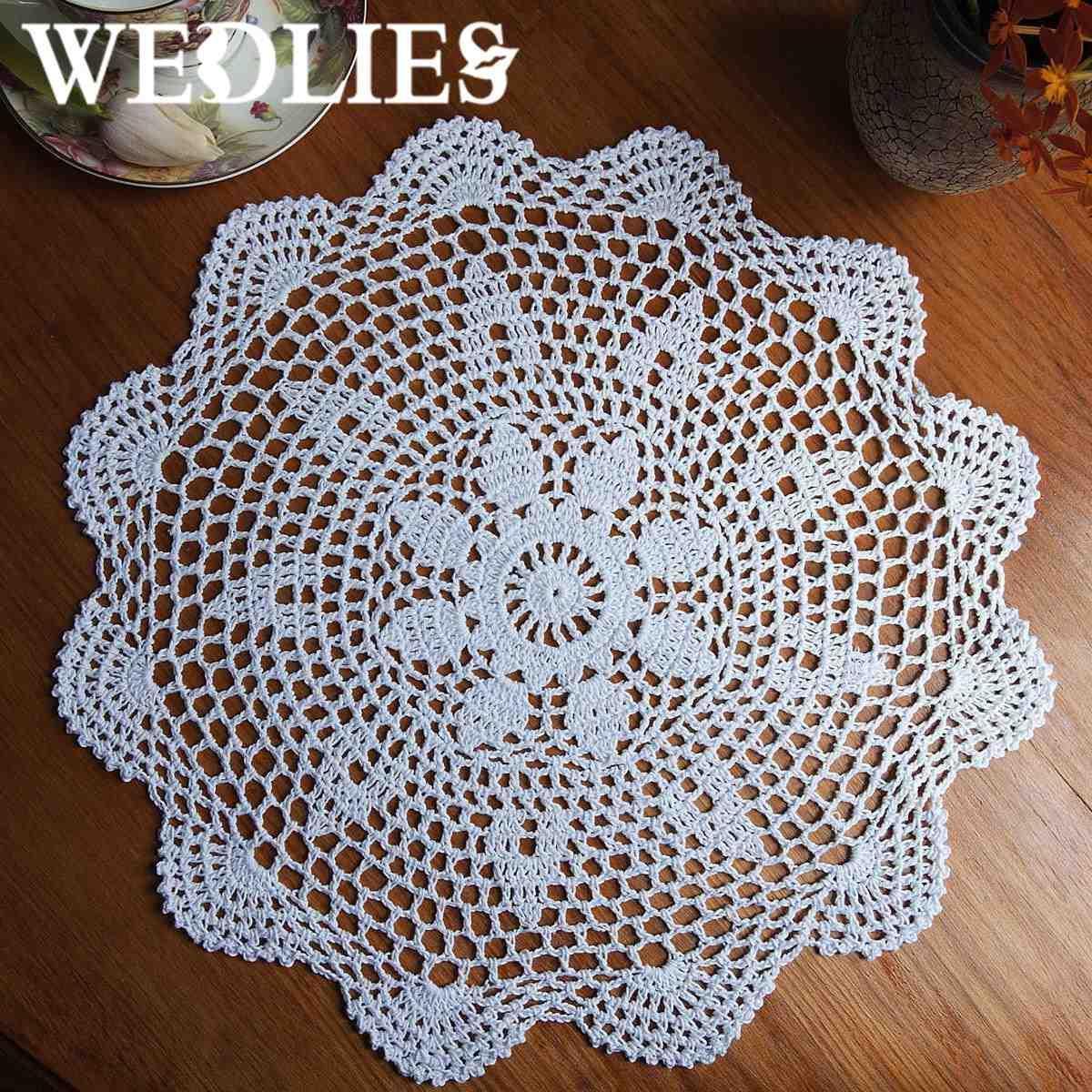 wholesale 37cm round lace