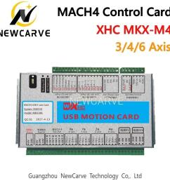 3 wire start stop diagram 2019 xhc mach4 newest breakout board 3 4 6 axis usb motion control xhc e stop  [ 1000 x 1000 Pixel ]