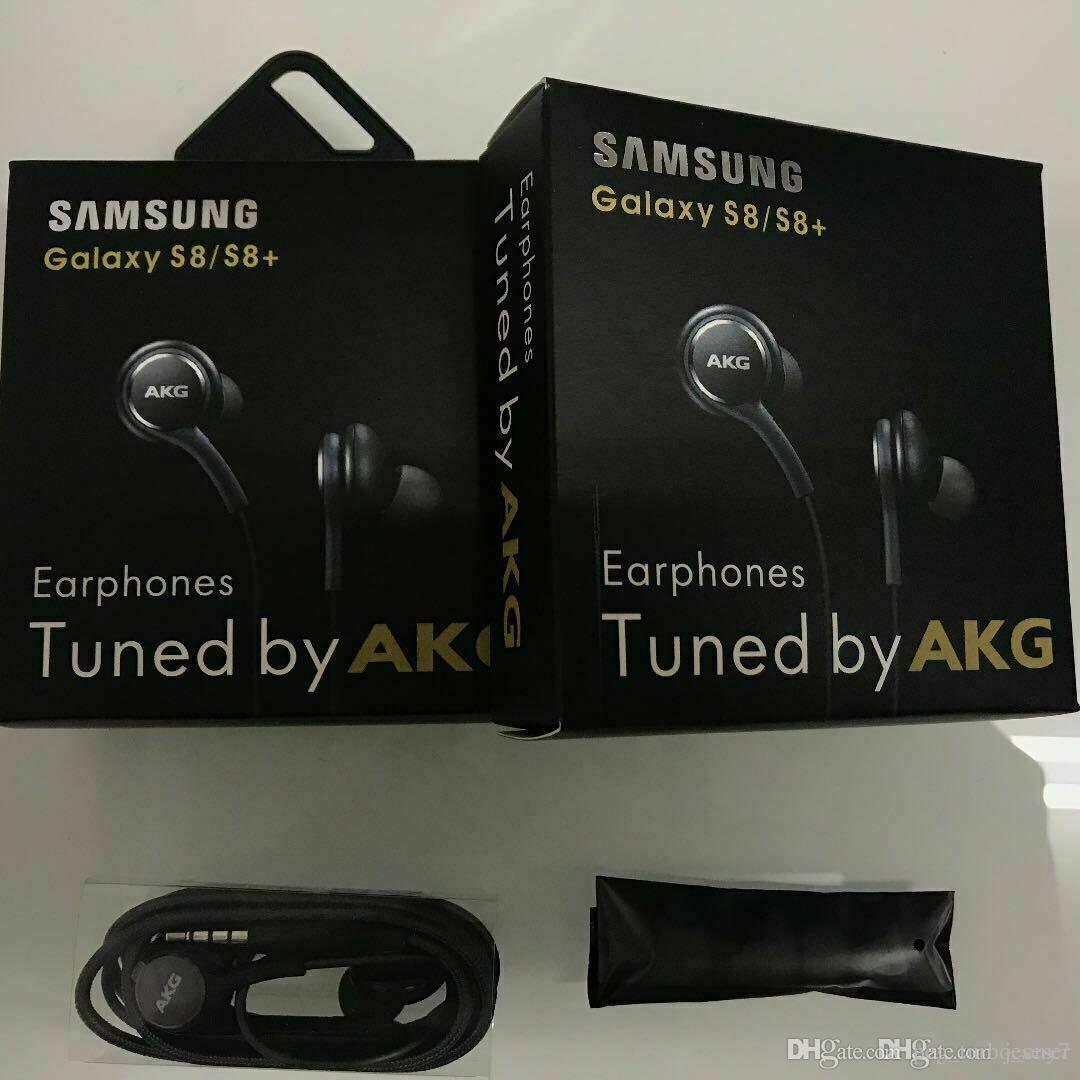 الأصلي سامسونج S8 S9 ملاحظة 8 Akg سماعات سماعات 35mm سماعة الأذن براعم Eo Ig955 مع حزمة لهواوي Xiaomi سامسونج جالاكسي S8 S9