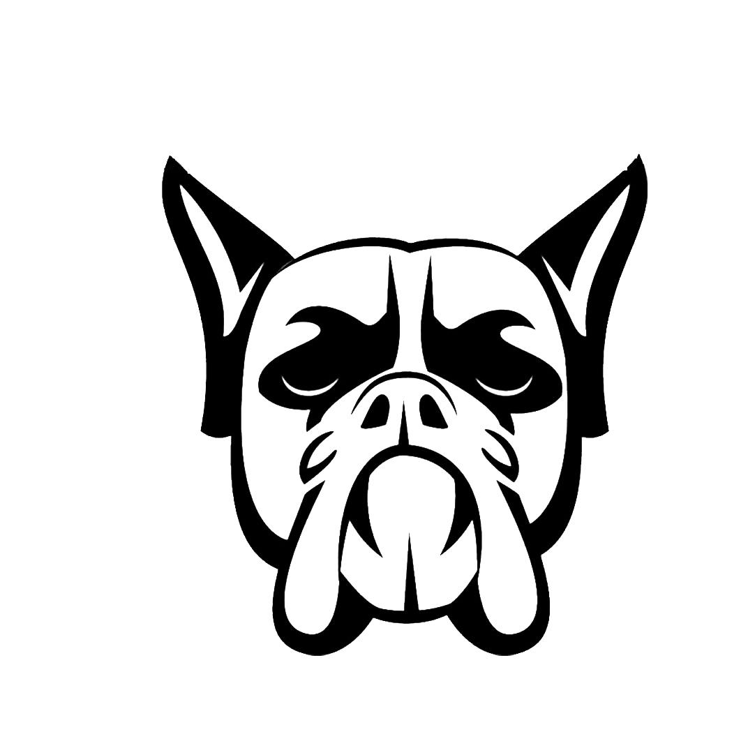 2019 Dog Head Vinyl Decal Super Cool Car Tail Stickers Car