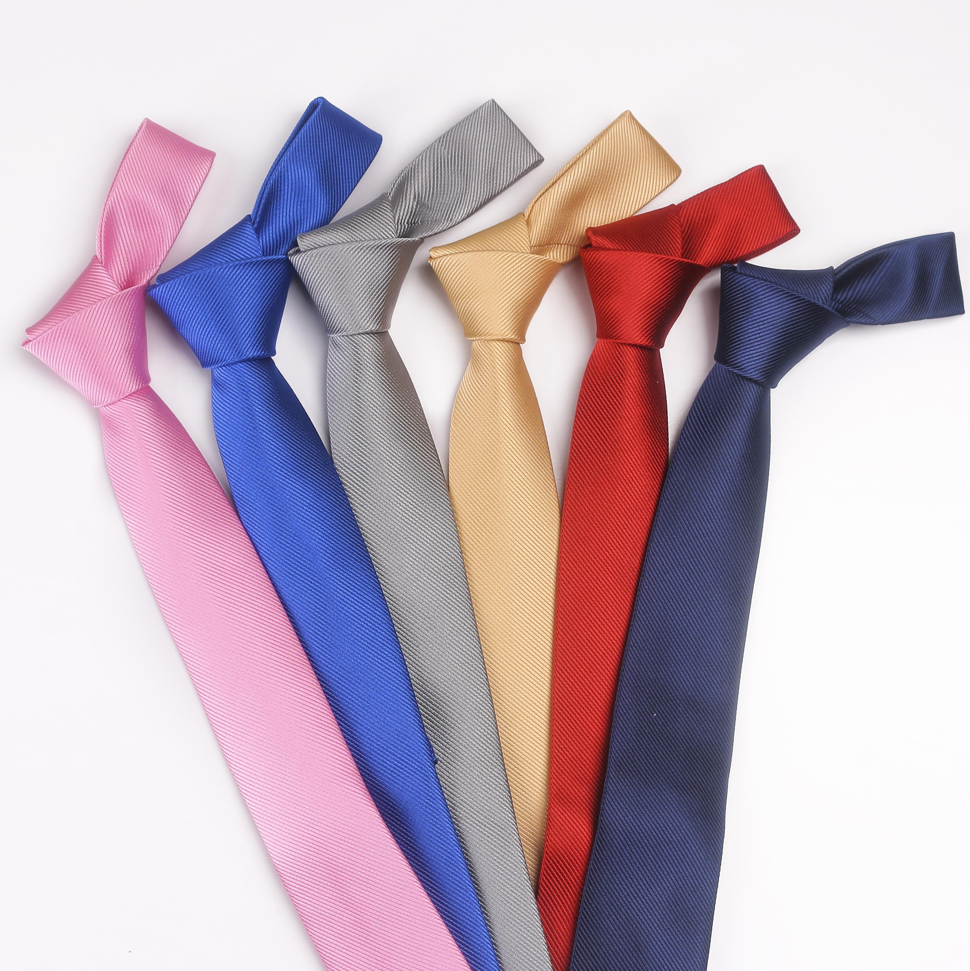 tieset solid color necktie