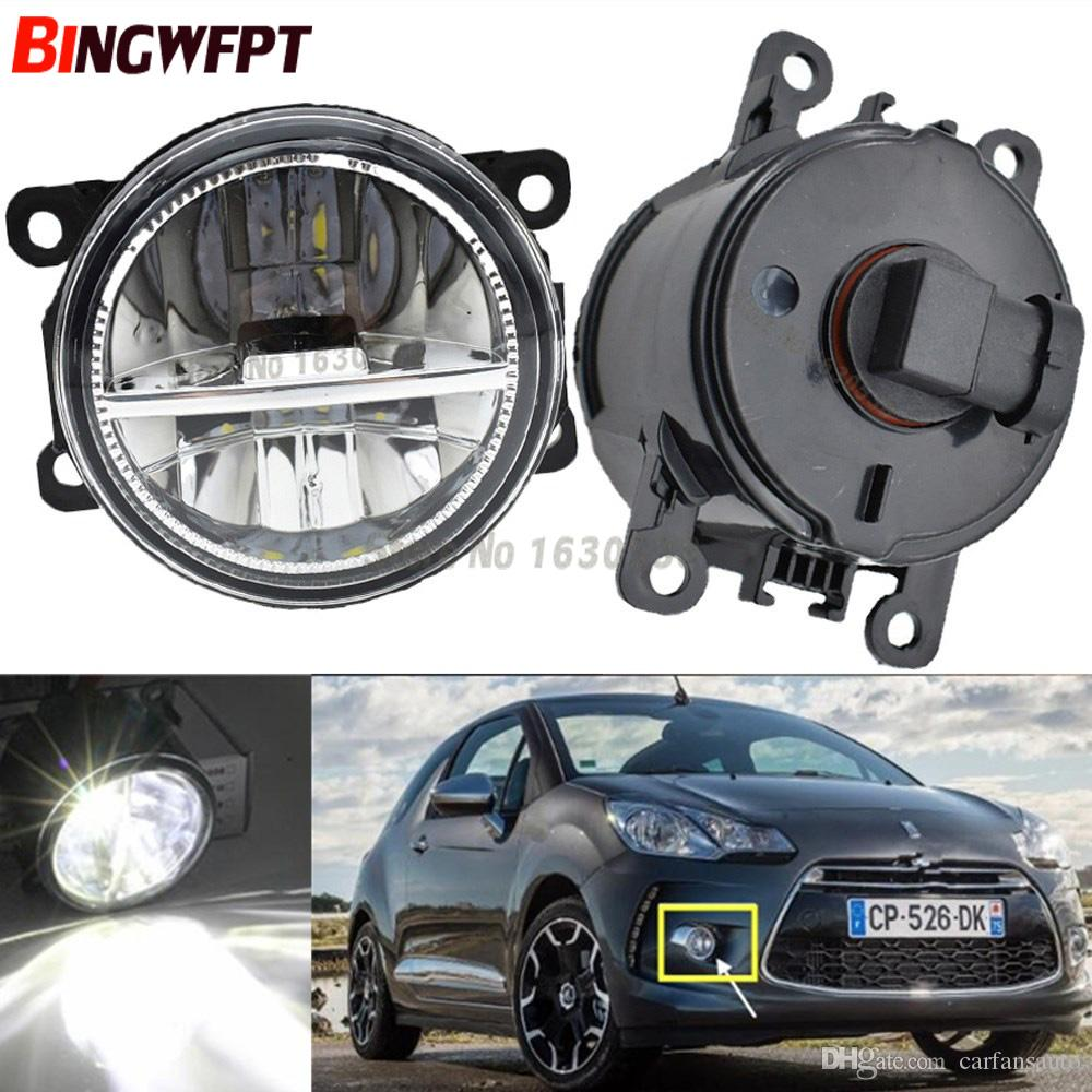 hight resolution of  pair fog lamp assembly super bright led fog light halogen light 55w for citroen ds5 ds4 2011 2014 hid light hid light bulbs for cars from carfansauto