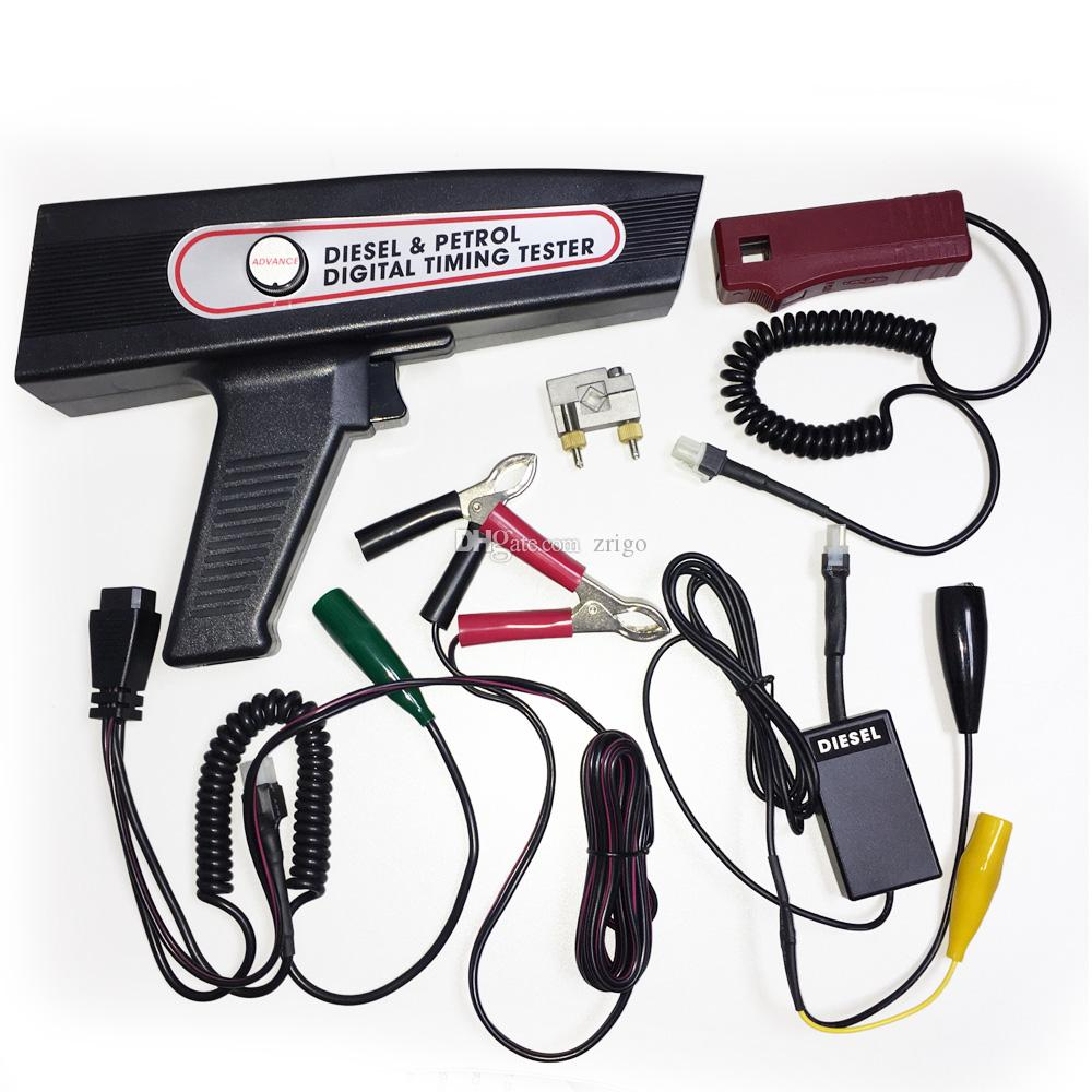 hight resolution of digital diesel petrol engine ignition xenon timing light engine analyzer da 3100d advance tachometer voltmeter dwell angle measuremen car electronics