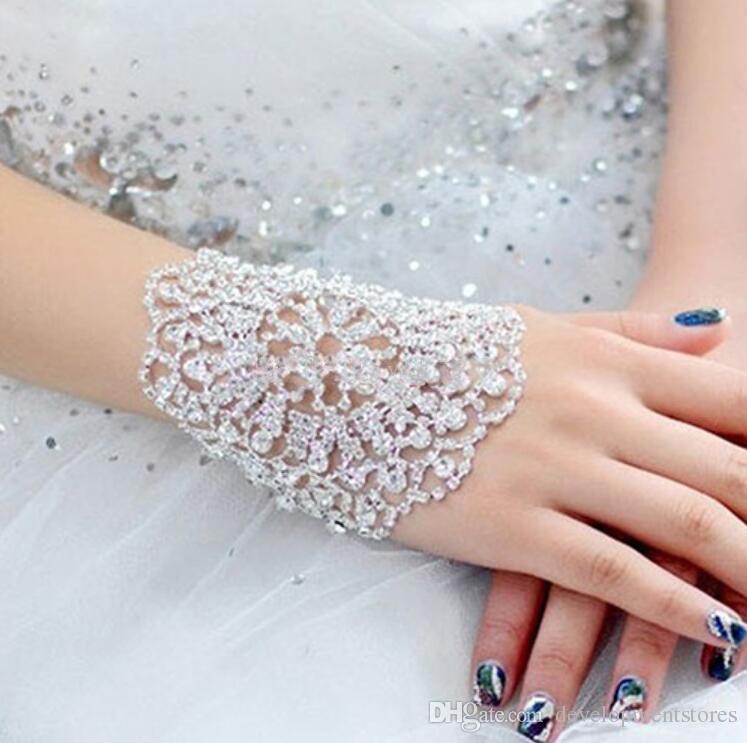 wedding bridal bracelet crystal